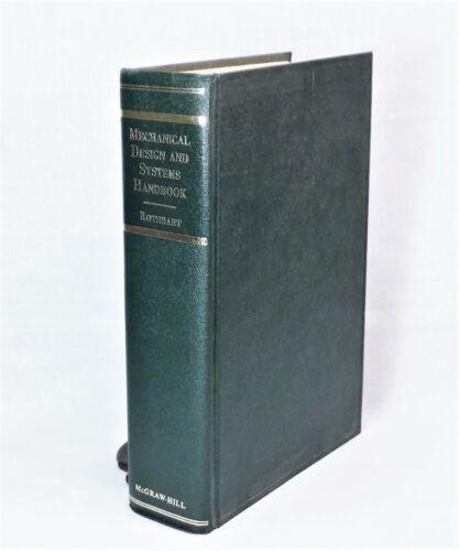 1964 Mechanical Design and Systems Handbook Rothbart McGraw-Hill