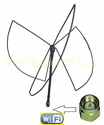 ADS-B 1090MHz Clover Leaf Omni-Directional Circular Polarized Antenna