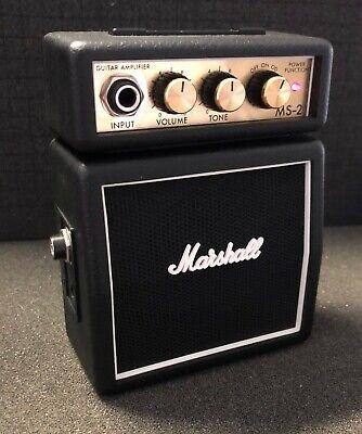 Marshall MS-2 Mini Amp Mini Guitar Amplifier Practice Amp Novelty Amp