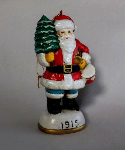 Vintage Santa Claus 1915 Christmas Tree Hanging Ornament Korea 1984 Holiday
