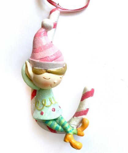 Pink Mint Blue Santa