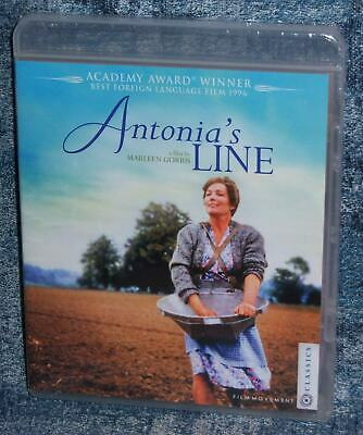 NEW FILM MOVEMENT CLASSIC ANTONIA'S LINE ACADEMY BEST FOREIGN MOVIE BLU RAY