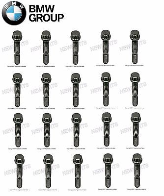 For BMW E90 E92 E60 E63 M3 M5 Set of 20 Connecting Rod Bolt Genuine 11247834522