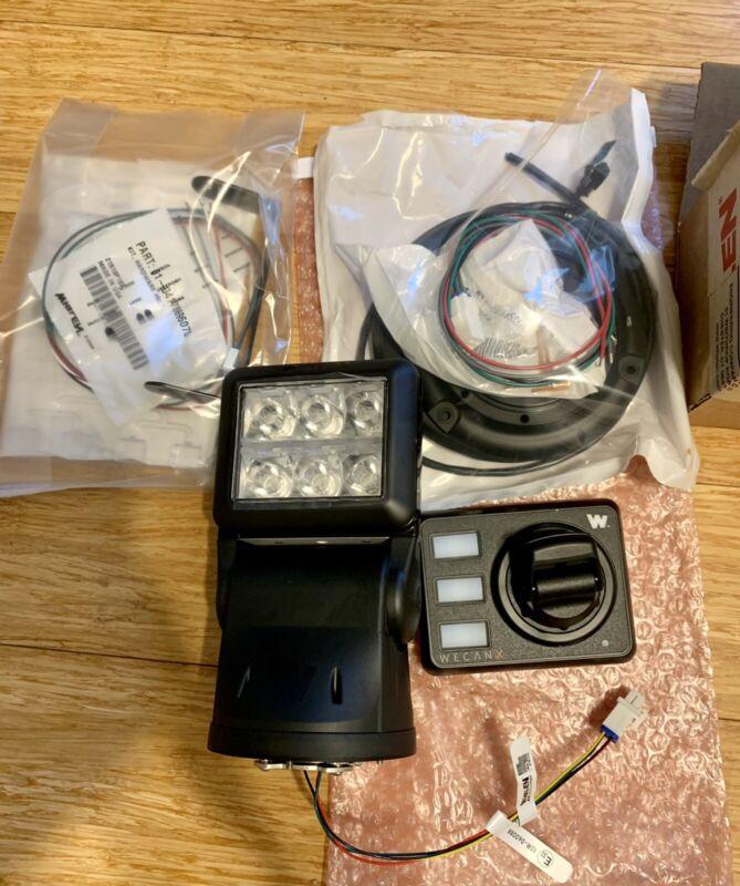 Whelen Arges Profocus 360 Degree Remote Spot/flood Light W/universal Mount Kit