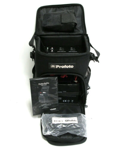 Profoto BAT PAC 120V BatPac Battery Backpack for D1 Acute2 ComPact - NEW BATTERY