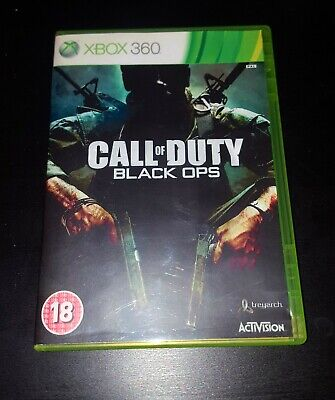 Call of Duty Black Ops Microsoft Xbox 360 Game, VGC