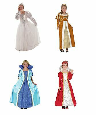 Princess Fancy Dress Child Costume Dress Up All Colours
