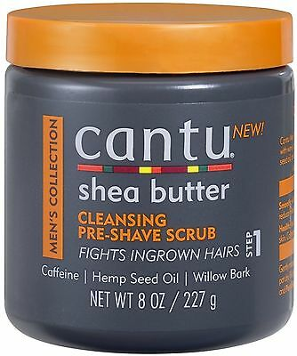 CANTU Shea Butter Men's Collection Cleansing Pre-shave Sc...