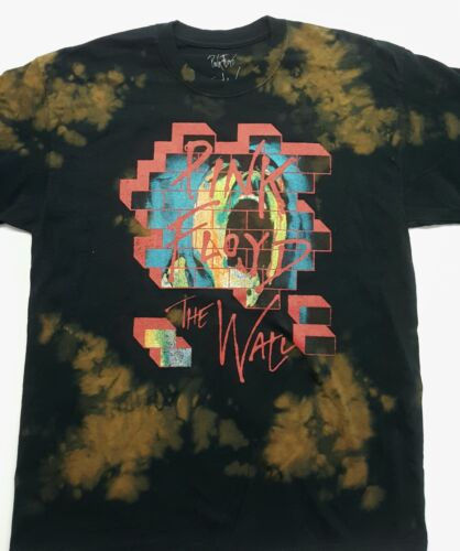Pink Floyd acid washed The Wall design T-shirt