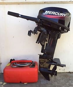 Mercury 15hp short leg boat motor with Lameroo Southern Mallee Preview