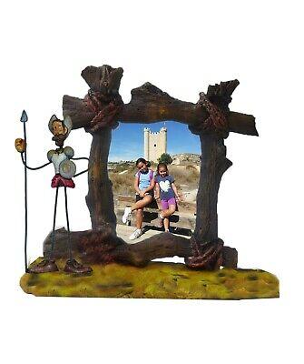 Marco fotos cerámica Quijote. Tamaño grande 15 x 20