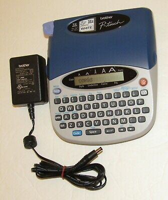 Brother P-touch Pt-1750 Label Maker With Adapter