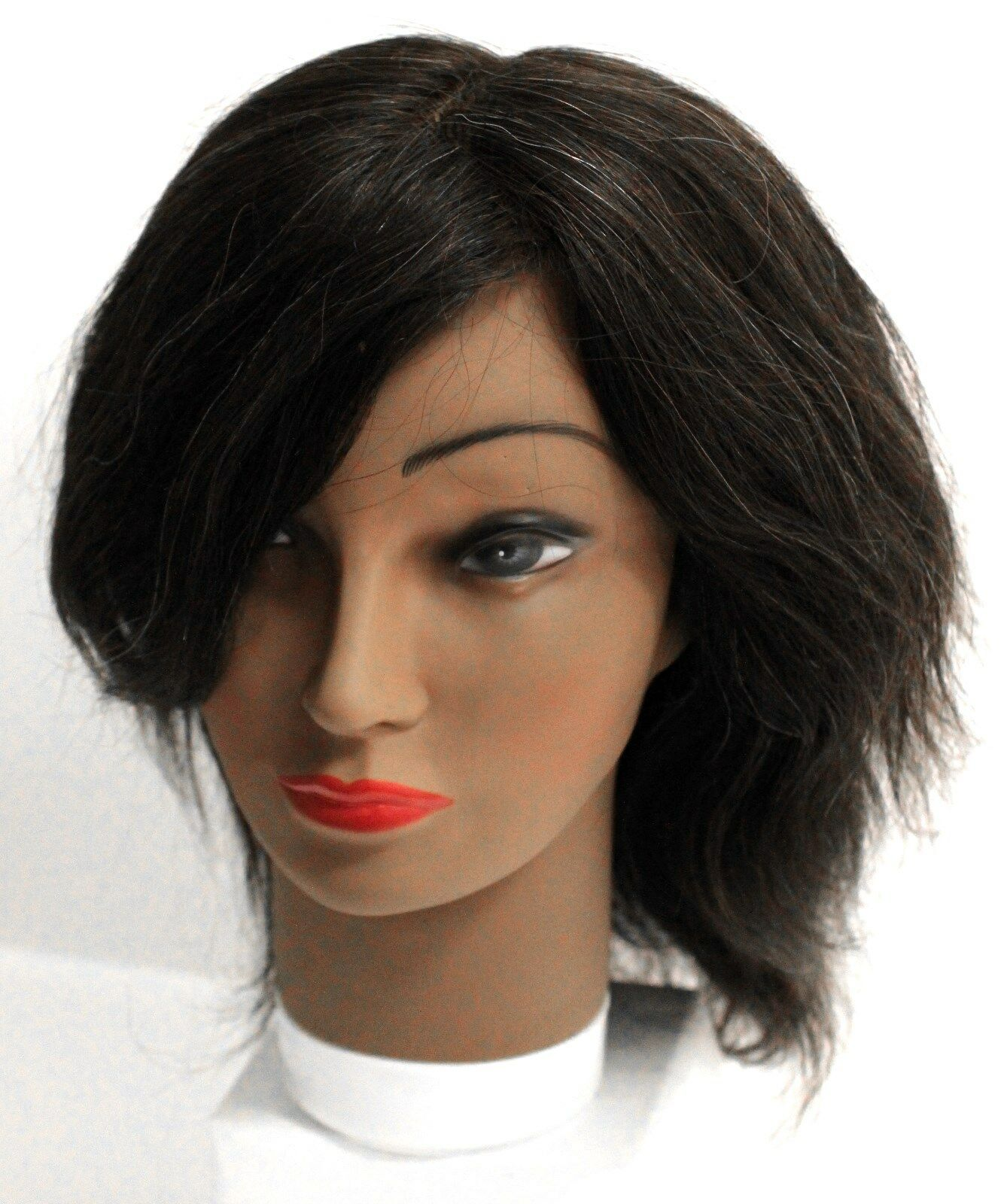 Annie Cosmetology Beauty Mannequin Head 100% Human Hair 1...