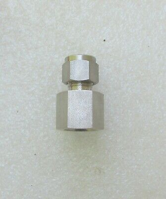 Swagelok 38 X 38 Stainless Steel Tube Fitting Ss-600-7-6 Several Avail New