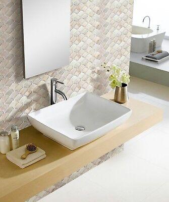 Bathroom Kitchen Wall Peel and Stick 2 Stickers Wallpaper Tile Shell Backsplash