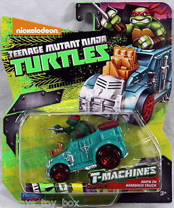 Teenage Mutant Ninja Turtles T-Machines Diecast Vehicle - Raph in Armored Truck