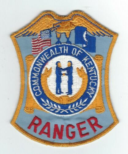 VINTAGE COMMONWEALTH OF KENTUCKY RANGER (CHEESE CLOTH BACK) patch