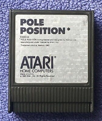Atari 400/800/XL/XE - Pole Position (RX8034) - game cartridge only - tested