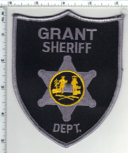 Grant Sheriff Dept. (West Virginia) 2nd Issue Shoulder Patch