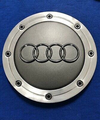 AUDI WHEEL CENTER CAP HUBCAP A4 A6 A8 S4 S6 S8 TT RS6 4BO601165A ORIGINAL 1 CAP