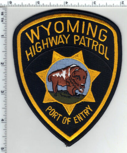 Highway Patrol (Wyoming) 1st Issue Port of Enrty Shoulder Patch