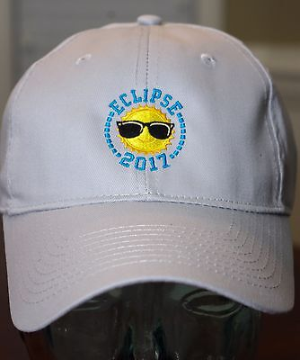 2017 Total Solar Eclipse Hat  100  Cotton  Low Profile Unstructured