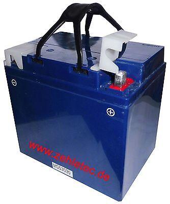 GEL Batterie 12V 30Ah 53030 Quad Roller Motorrad Golfcart Golfauto BMW K100 K75