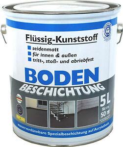 Wilckens Bodenbeschichtung LF Flüssigkunststoff RAL7032 kieselgrau  5 L / L 5,99