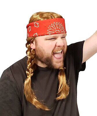 Costume Red Wig (Willie Nelson Red Bandana Country Costume)