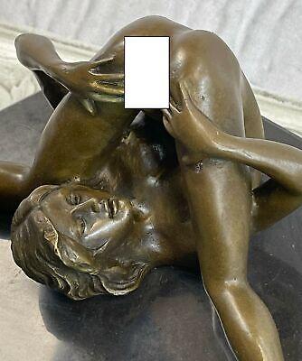 Austrian Vienna Art Deco Bronze Figure Olivino Nude Model Sculpture Statue Deal
