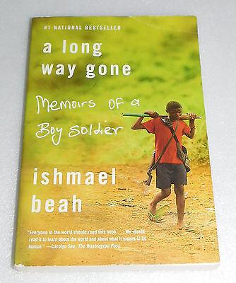 Long Way Gone Memoirs Boy Soldier Ishmael Beah PB Child Fighter Sierra Leone