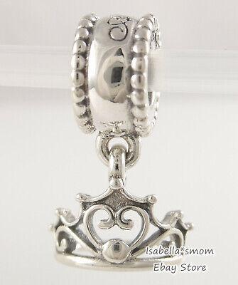 Disney Ariel Tiara Original Pandora Silber Lang Prinzessin Krone Anhänger 791569