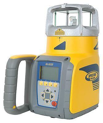 Spectra Precision Gl622 Dual Grade Laser With Hl750 Receiver Rc602 Remote
