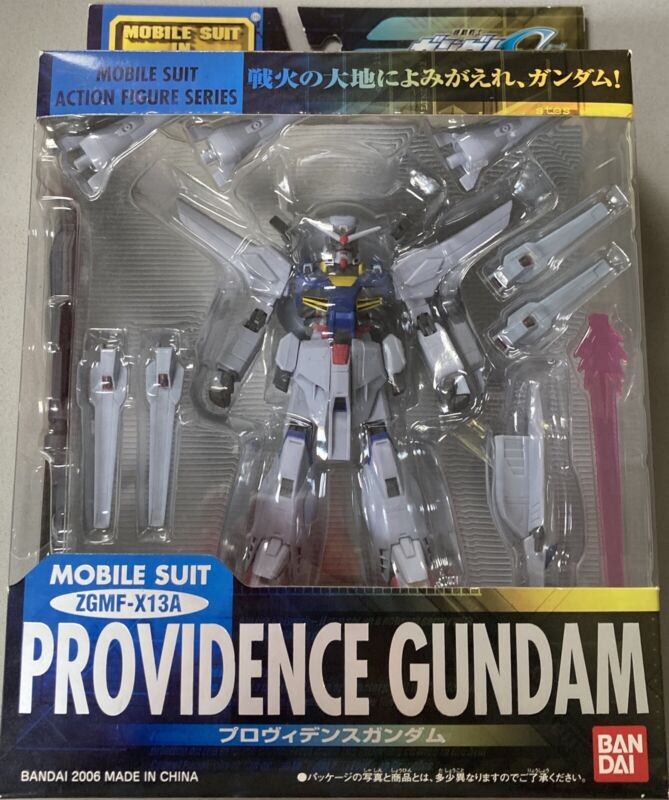 Bandai Gundam Mobile Suit Fighter Action Figure Providence MSIA Seed Version