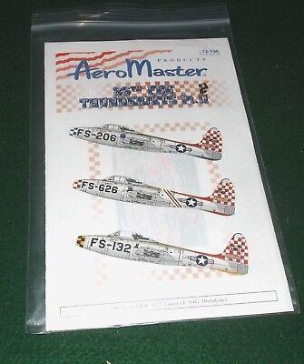 Aero Master 1/72 F-84G Thunderjets 86th FBG 1952 NOS