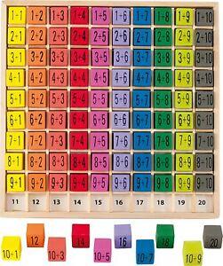 Neu, Ulysse 3864 Rechenbrett Addition 1-100 aus Holz
