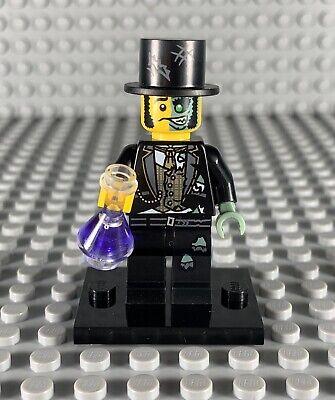 LEGO MINIFIGURES SERIES 9 -- MR. GOOD AND EVIL MINIFIGURE W/ BLACK BASEPLATE NEW
