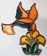 Hummingbirds Stained Glass Sun Catchers