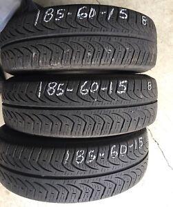 185-60-15 Pirelli P4 TRÈS BON ÉTAT