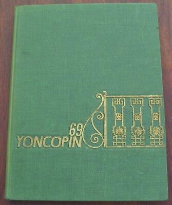 1969Centenary College of Louisiana YONCOPINYearbook Vietnam Era