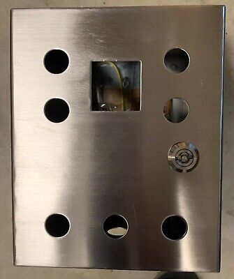 10 X 8 X 6 Stainless Steel Electrical Enclosure