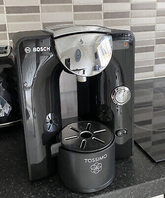 Bosch Tassimo TAS5542GB 1.4L Coffee Maker - Black and silver