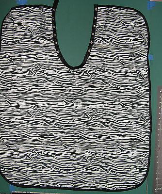 Zebra Blk+wht Hair Barber Stylist Nylon Cutting Cape Kid's Children Personalized