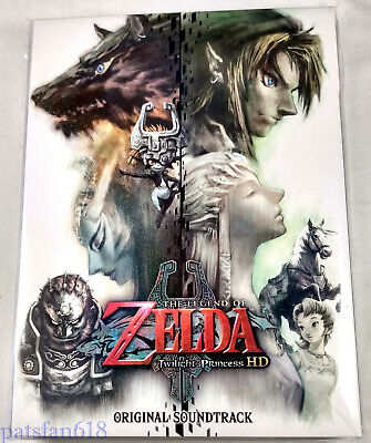 The Legend of Zelda Twilight Princess HD ORIGINAL SOUNDTRACK 3-Disc CD JP Import