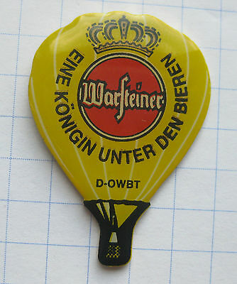 WARSTEINER / D-OWBT     ..................... Bier-Ballon-Pin (104i)