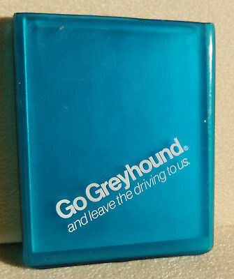 """vintage """"Go Greyhound and Leave the Driving to us Advertising Mirror CompactCase"""