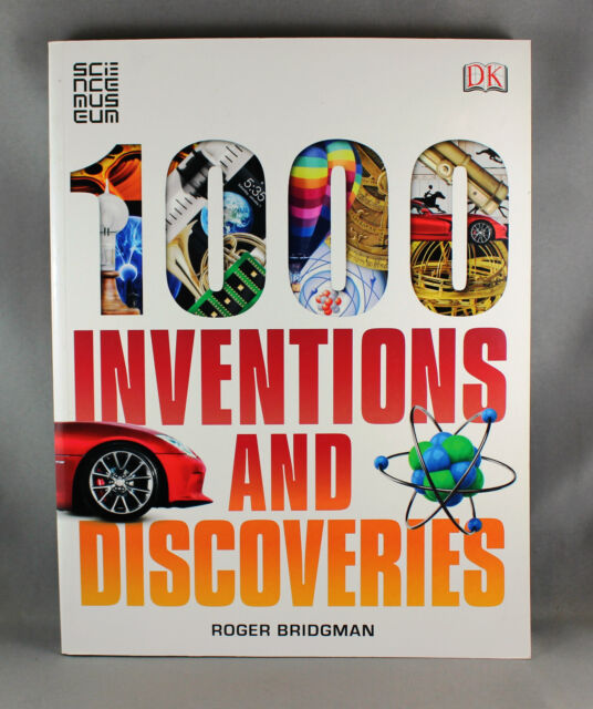 1000 Inventions and Discoveries By Roger Bridgman - Brand New