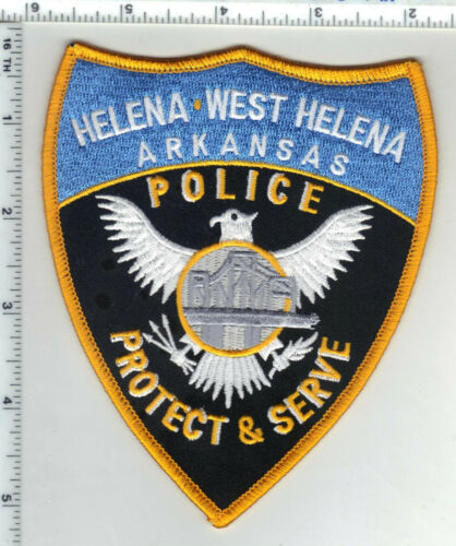 Helena-West Helena Police (Arkansas) 2nd Issue Shoulder Patch