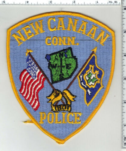New Canaan Police (Connecticut) 3rd Issue Shoulder Patch