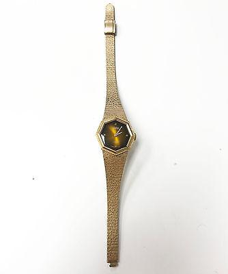 (Alsta 17 Jewels Japanese Movement Octagon Shape Mechanical Wind Bangle Watch)